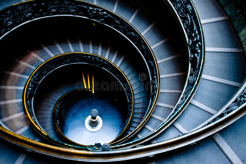 escalier vatican image libre de droits