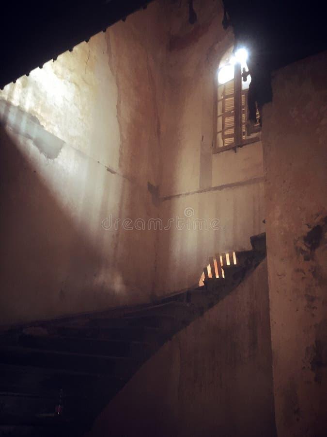 Escaliers à images stock