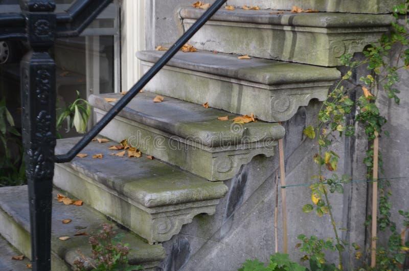 Escaliers à Amsterdam photo libre de droits