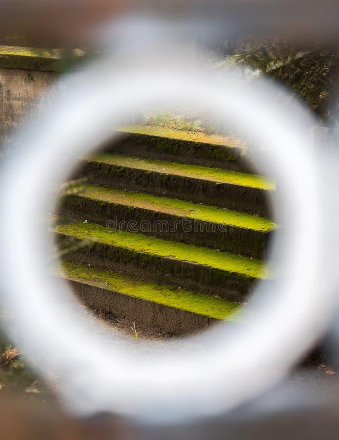 Escaliers à l'infini photo stock