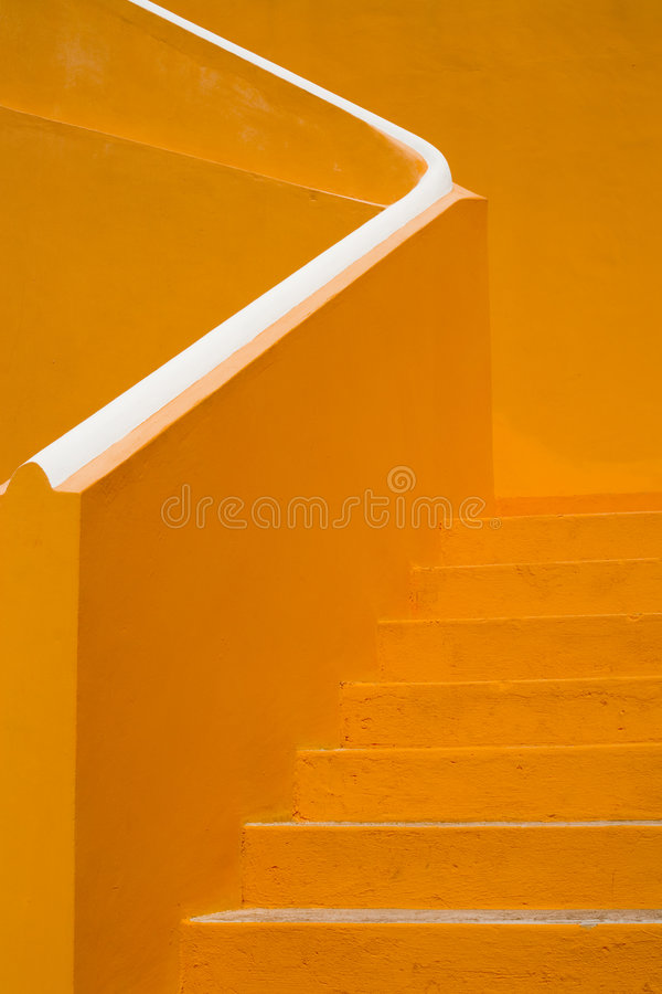 Escaliers 01 du Curaçao image libre de droits