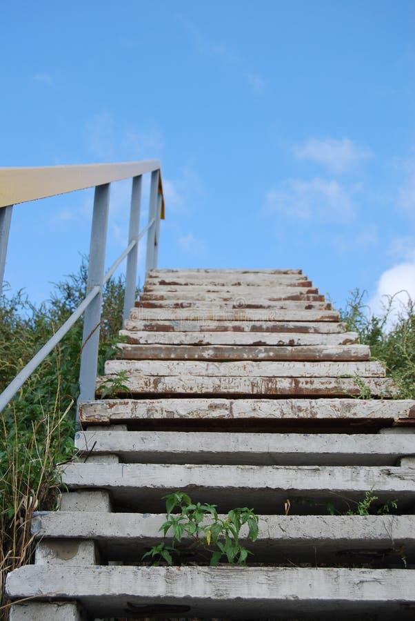 Escaliers Au Ciel. Image libre de droits