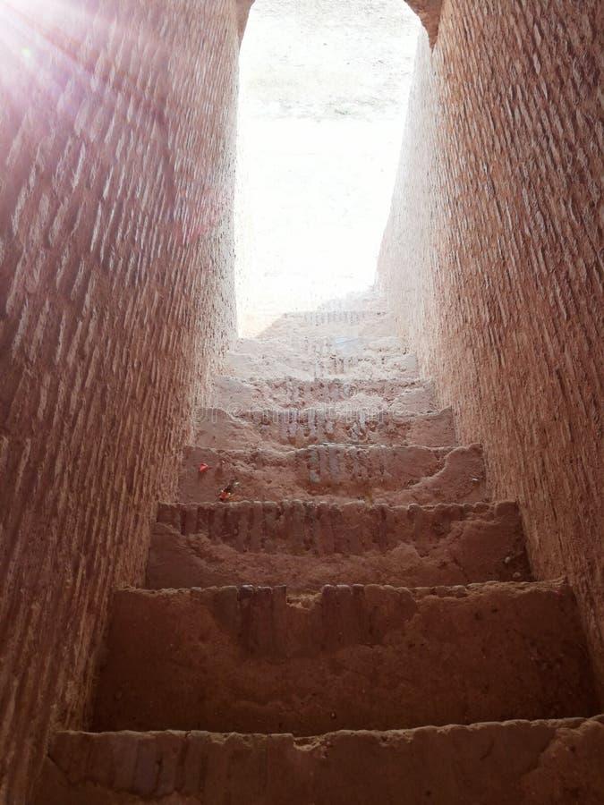 Escaliers au fort de rdb dans le doraha photos stock