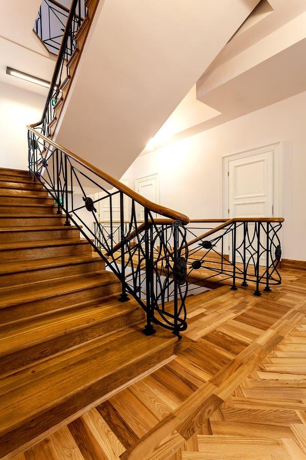 Escaliers classiques photos libres de droits