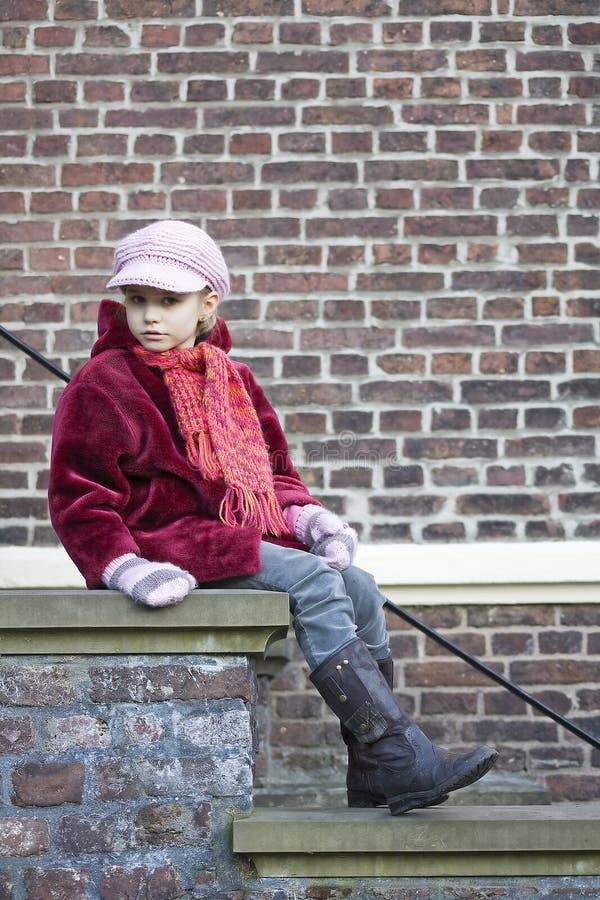 escaliers d'enfant photos libres de droits