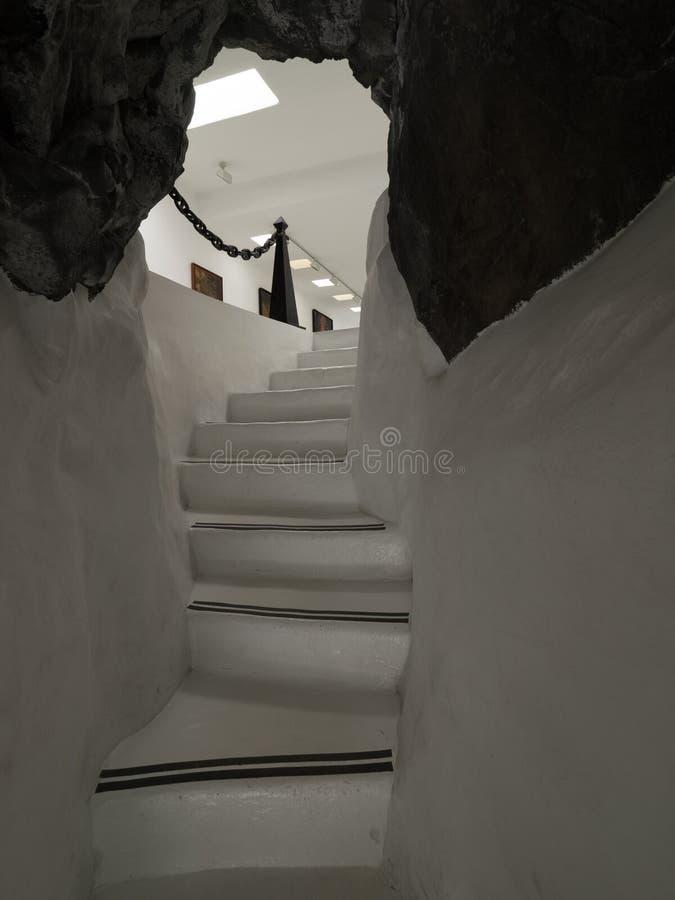 Escaliers dans Cesar Marique Foundation photos stock
