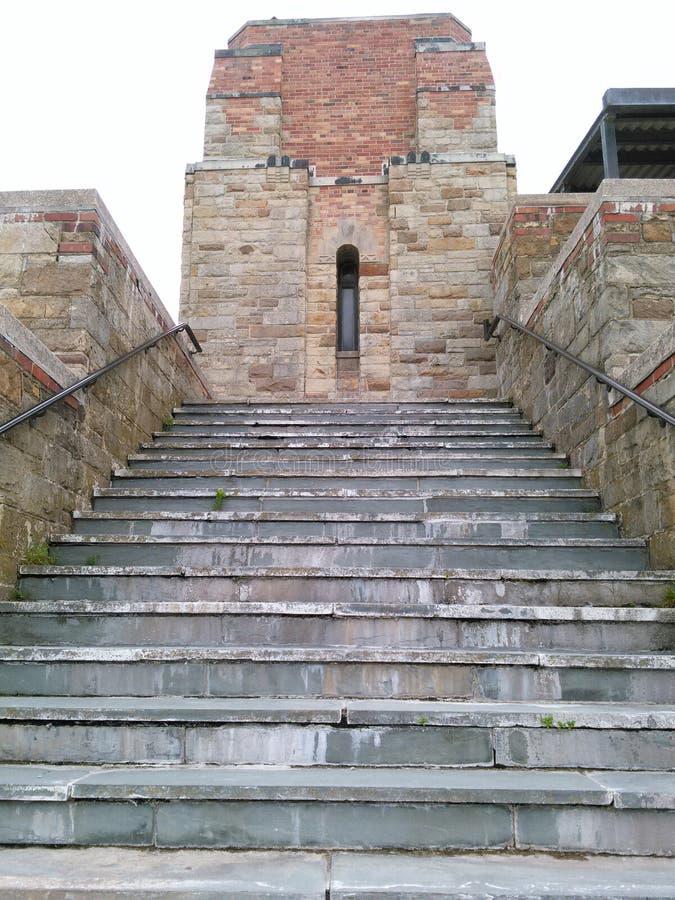 Escaliers de brique images libres de droits