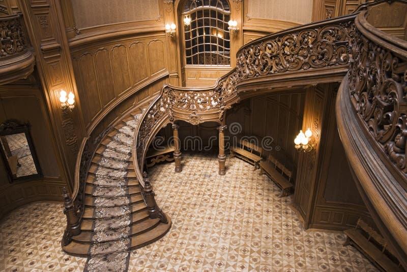Escaliers de casino photographie stock libre de droits