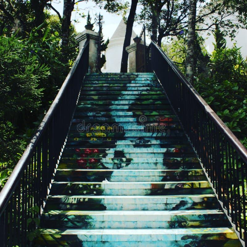 escaliers de ciel image stock