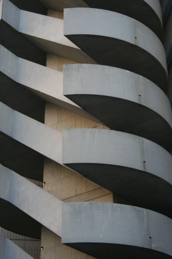 Escaliers de construction photo libre de droits