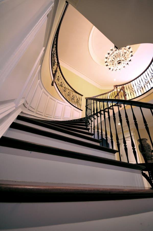 Escaliers de fantaisie photographie stock