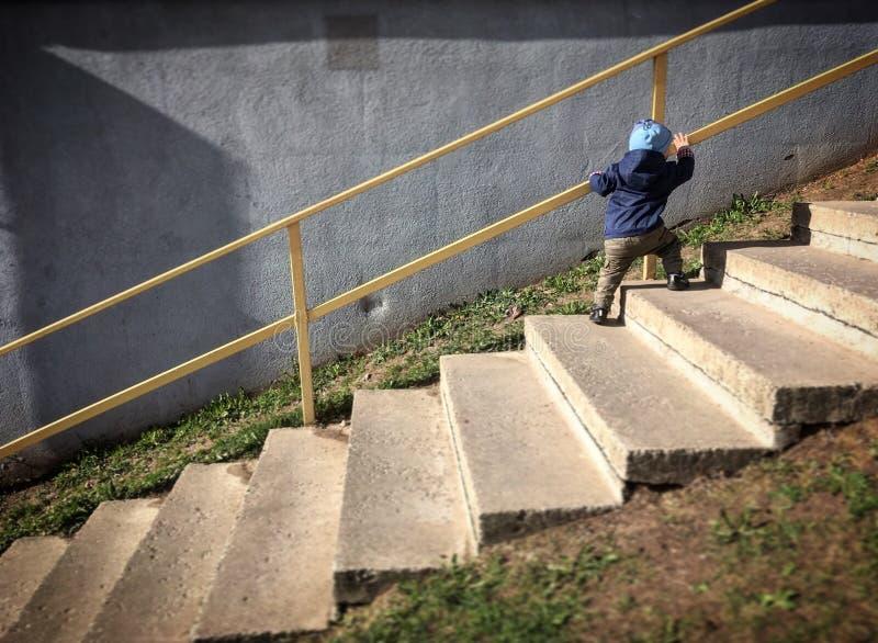 Escaliers de la vie image stock