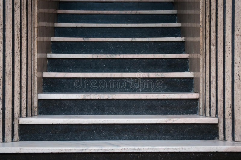 Escaliers de marbre photos libres de droits