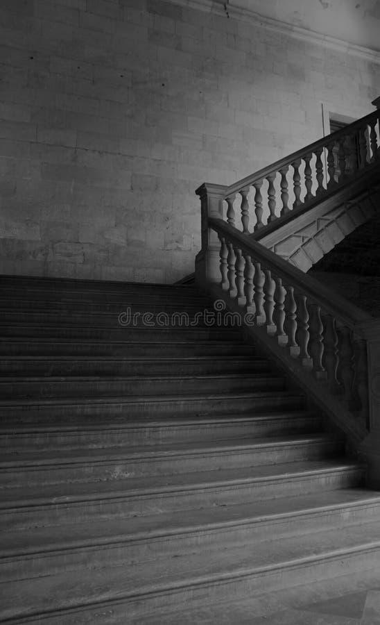 Escaliers de palais de Carlos V photo libre de droits