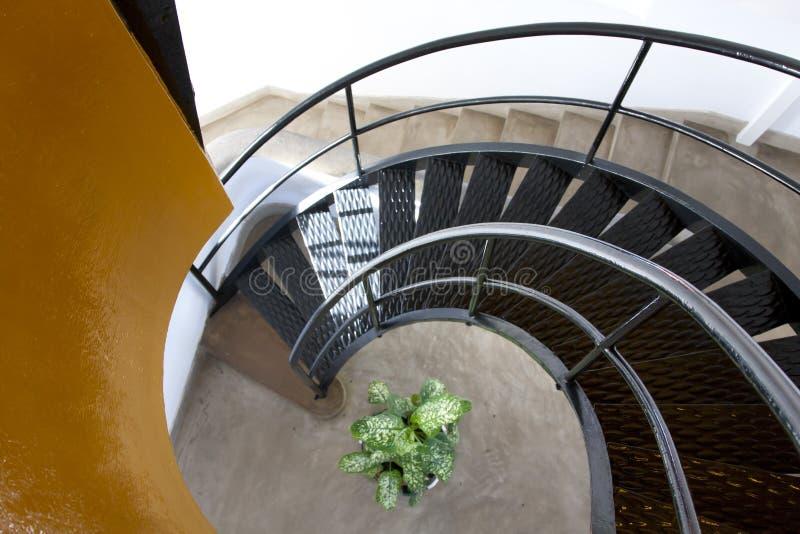 Escaliers de phare photos libres de droits