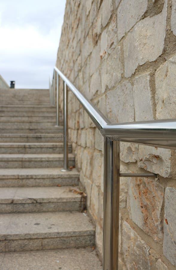 Escaliers de Valencia Palau de la Música images libres de droits