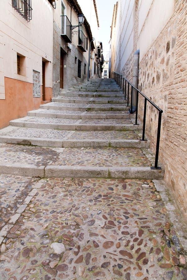 Escaliers en pierre de vintage image libre de droits