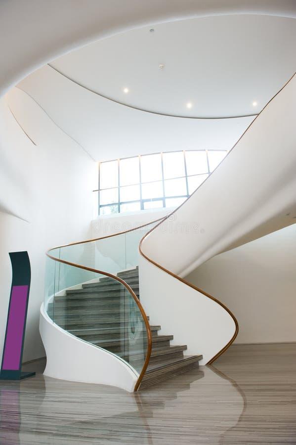 Escaliers intérieurs photographie stock