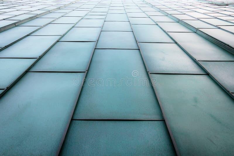 Escaliers métalliques futuristes photo stock