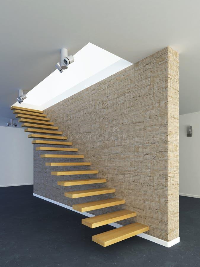 Escaliers modernes illustration de vecteur