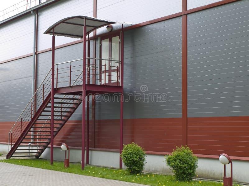 Escaliers modernes de construction photographie stock libre de droits
