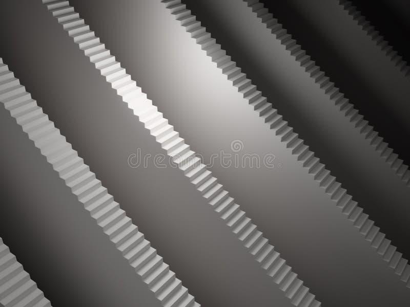 Escaliers sans fin abstraits illustration stock