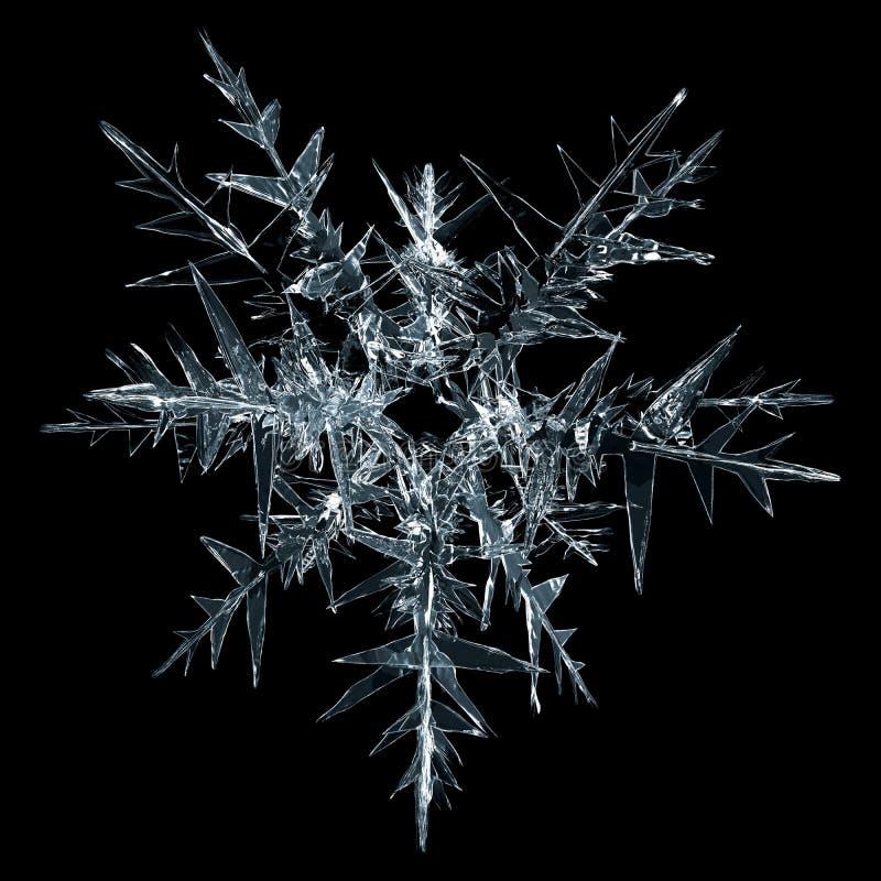 Escama de la nieve stock de ilustración