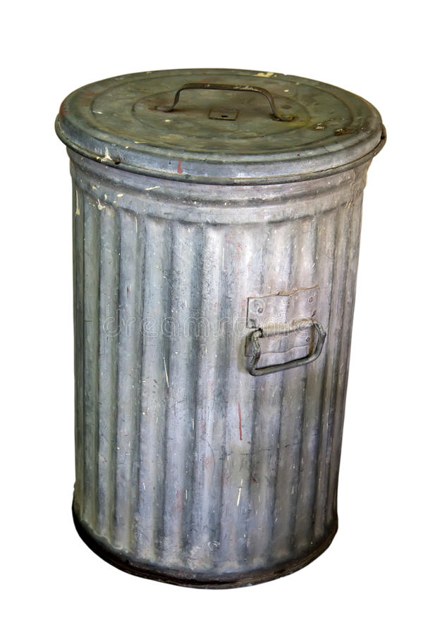 Escaninho de lixo imagens de stock