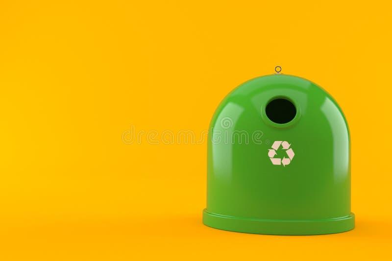 Escaninho de recicl ilustração do vetor