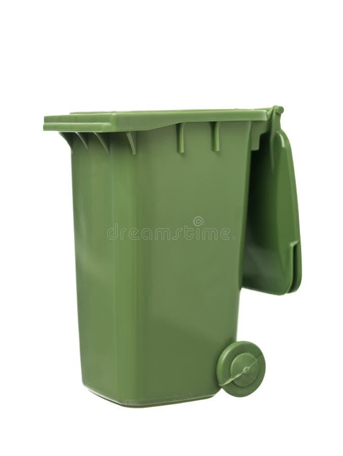 Escaninho de recicl verde fotos de stock