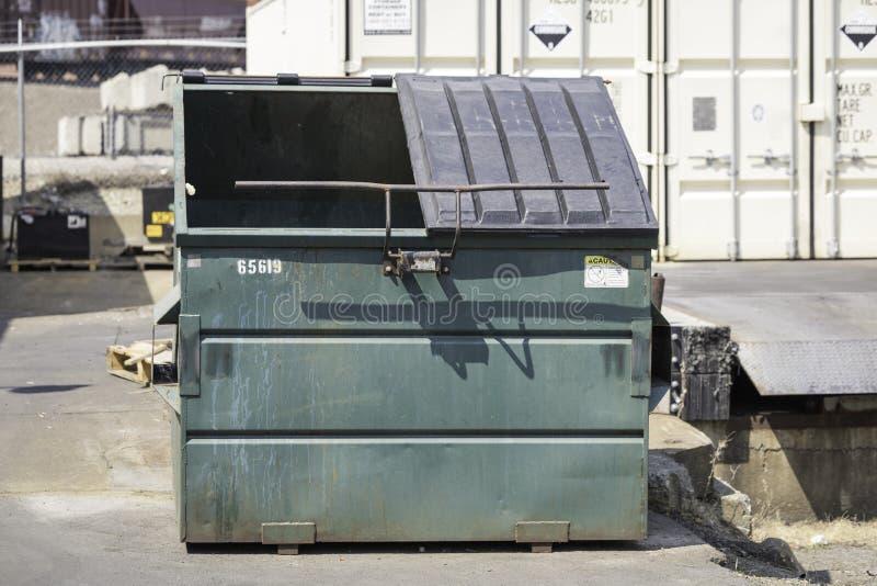 Escaninho Waste imagem de stock royalty free