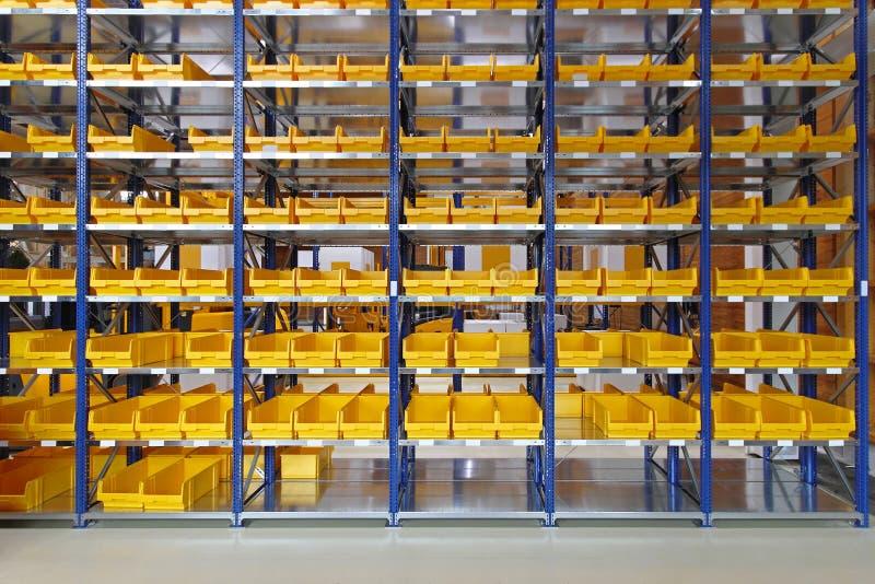 Escaninhos de armazenamento foto de stock