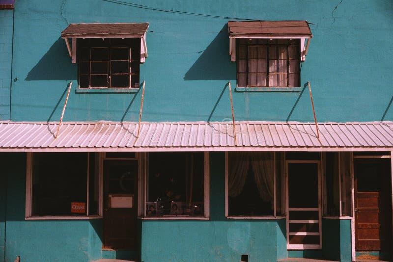 Escaparate en Ronan, Montana imagen de archivo libre de regalías
