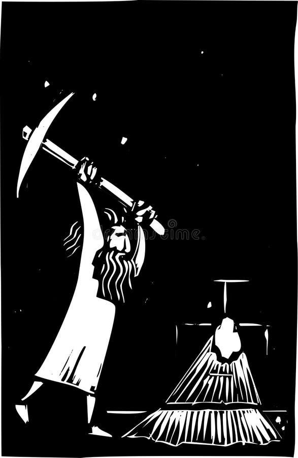 Download Escape stock vector. Illustration of punishment, capture - 25880111