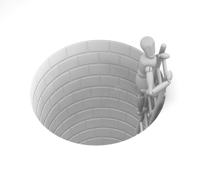 escape vektor illustrationer