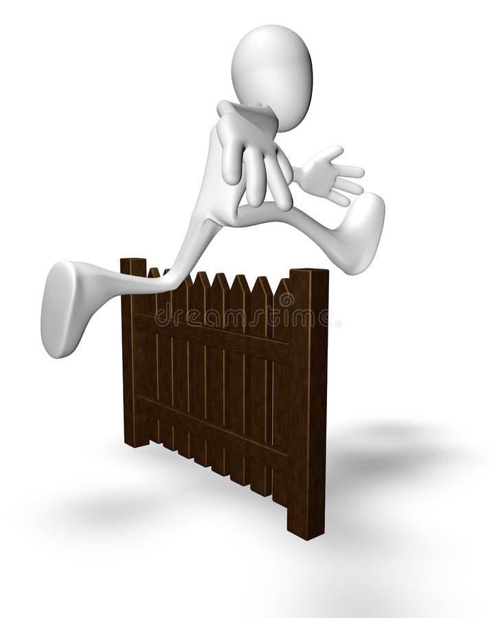 Download Escape stock illustration. Illustration of fence, estate - 33924175