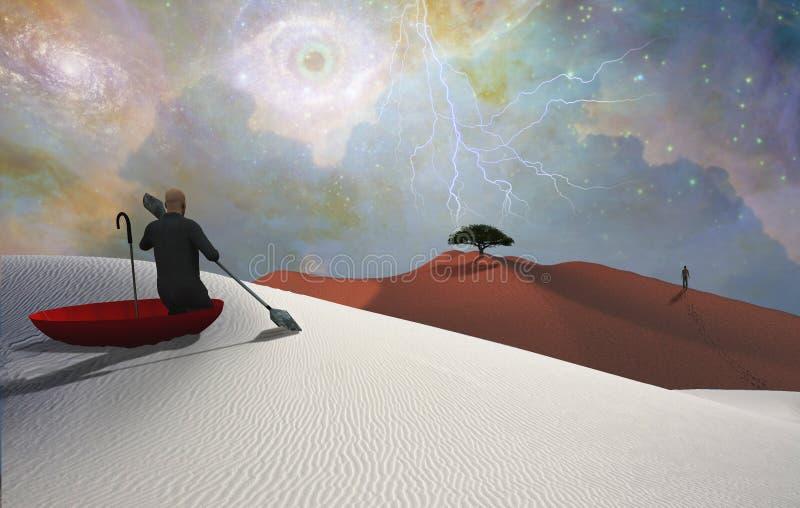 Escape de la realidad libre illustration