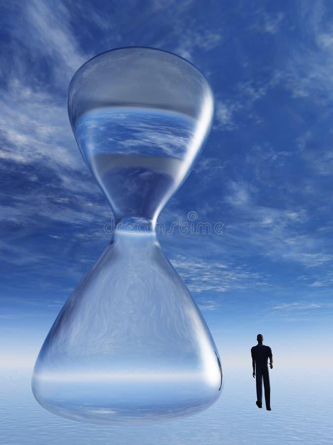 Escape del tiempo stock de ilustración
