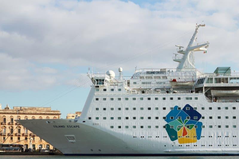 Escape do console do navio de cruzeiros fotos de stock royalty free