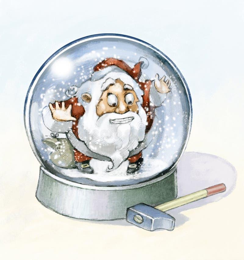 Escape do Natal ilustração do vetor