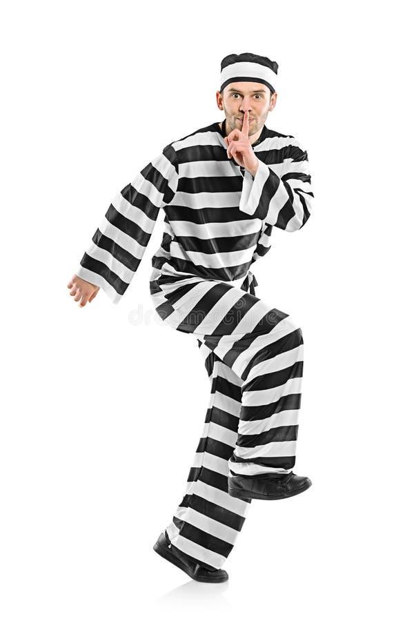 Escape Do Prisioneiro Fotografia de Stock Royalty Free