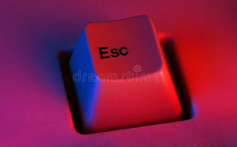 Download Escape key stock photo. Image of push, keyboard, safety - 4183682