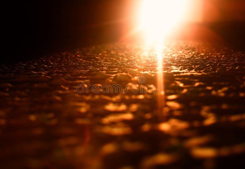Escape ligero anaranjado en hd superficial desigual del fondo de la textura fotos de archivo