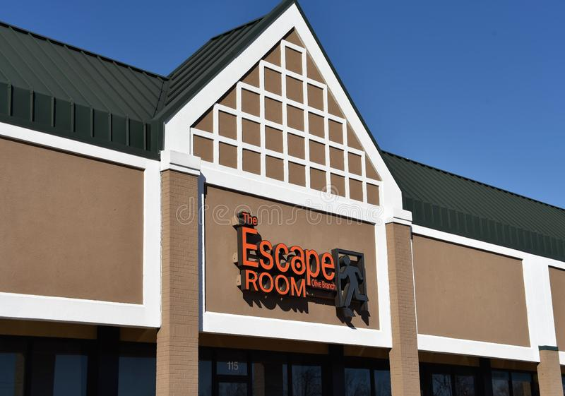 The Escape Room, Olive Branch, Mississippi stock photos