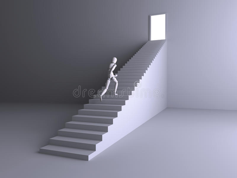 Download Escape To The Light Stock Photo - Image: 9609400