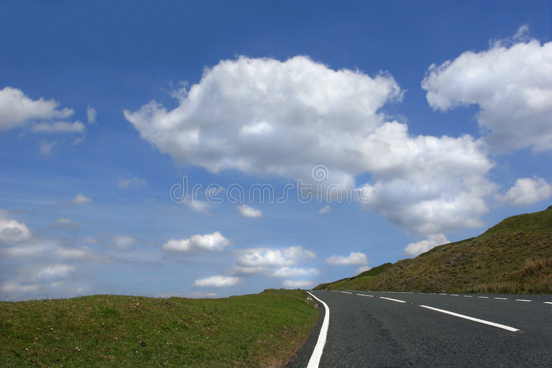 Download Escape to Nowhere stock image. Image of clear, driving - 1714099