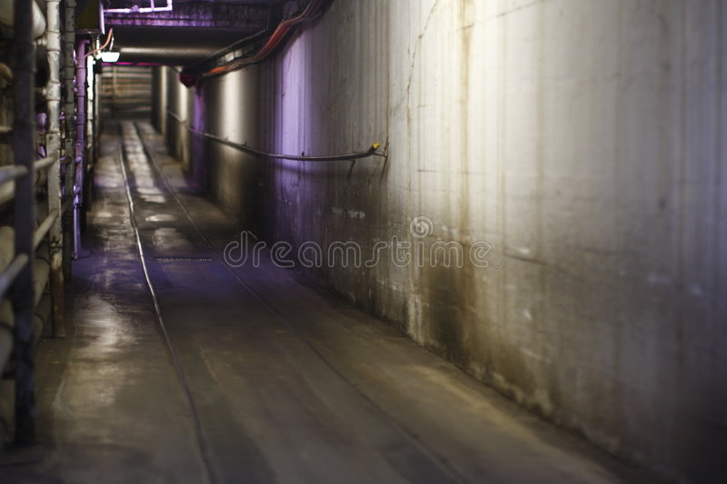 Escape Tunnel In Mental Hospital Stock Image