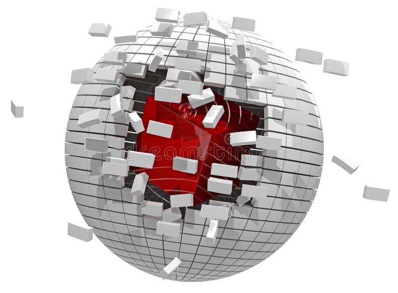 Escape virtual imagen de archivo libre de regalías