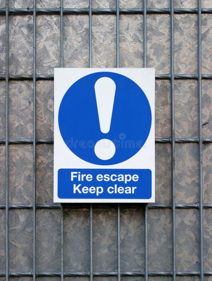 escapebrand arkivfoto