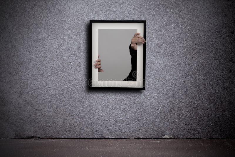 Escaping A Framework Stock Photo